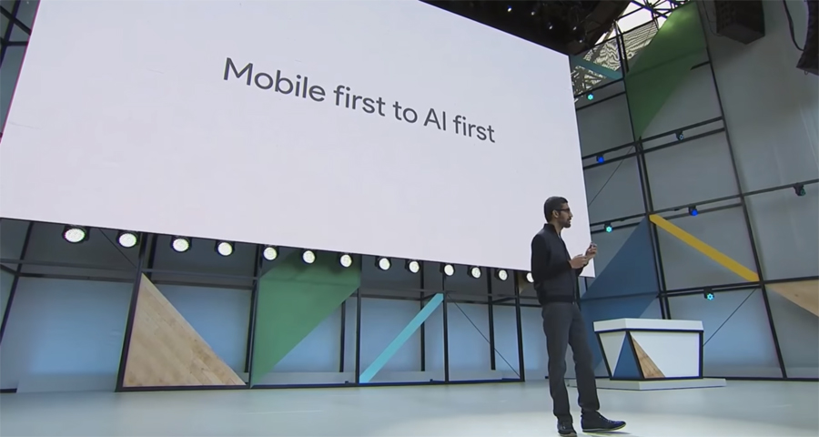 "Google I/O 2017 Da ""mobile first"" a ""AI first"""