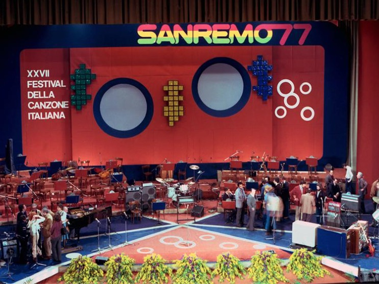 Il primo Festival di Sanremo all'Ariston