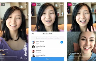 Instagram testa le dirette in split-screen con gli amici